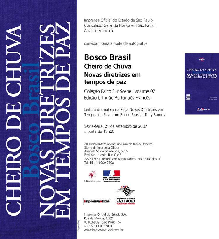 bosco brasil-convite