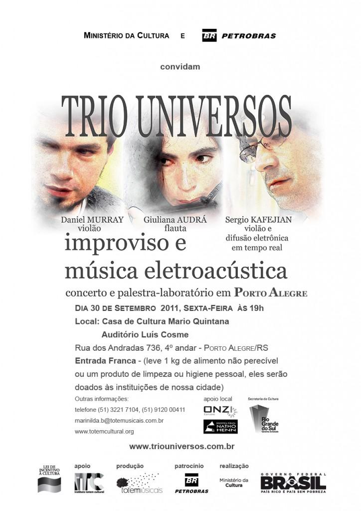 Convite eletrônico Porto Alegre